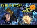 How EG.Arteezy plays Sven | 7k mmr games