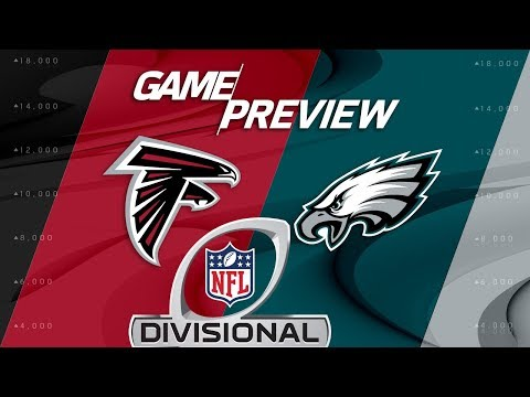 Atlanta Falcons vs. Philadelphia Eagles | NFL Divisional Round Preview | Move the Sticks