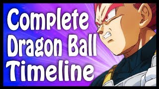 The Entire Dragon Ball Timeline Explained in Order and Detail