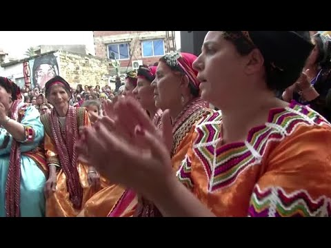 Berber women mark International Women's Day