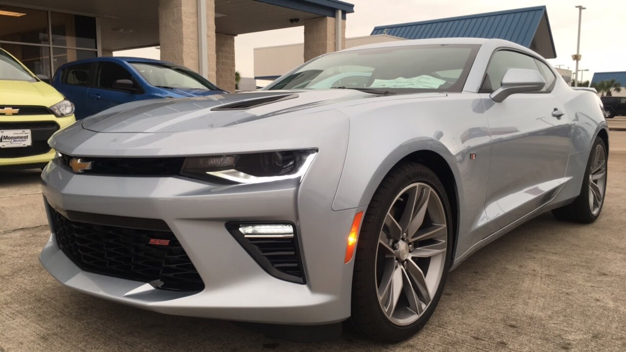 2017 Chevrolet Camaro SS (6.2 V8) - Review - YouTube