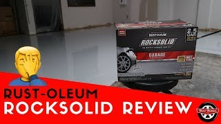 Rustoleum Rock Solid Floor Coating Review