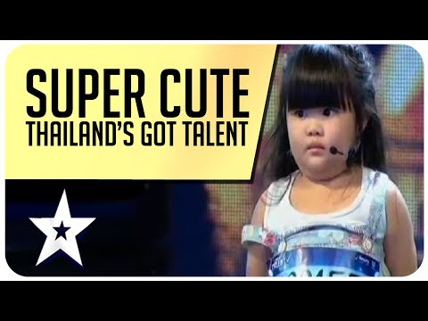 Super Cute & Adorable Audition From Thailand's Got Talent