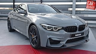 INSIDE The NEW BMW M4 CS 2018 | Interior Exterior DETAILS W/ REVS