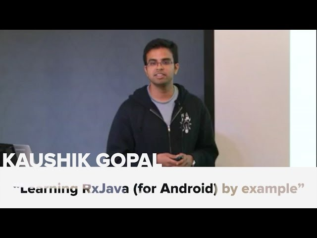 Learning RxJava (for Android) by example