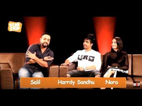 Harrdy Sandhu and Nora Fatehi ( Exclusive Interview ) | B4U Star Stop