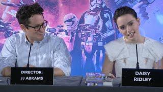 Star Wars The Force Awakens   Full European Press Conference (2015) J.J. Abrams