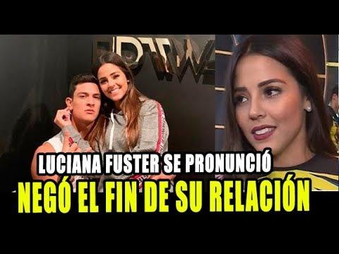 LUCIANA FUSTER NEGÓ EL FIN DE SU RELACIÓN CON EMILIO JAIME