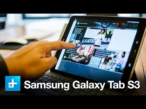 Samsung Galaxy Tab S3 - Hands On Review