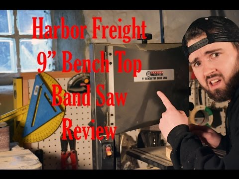 Harbor Freight 9in Bench Top Band Saw Review