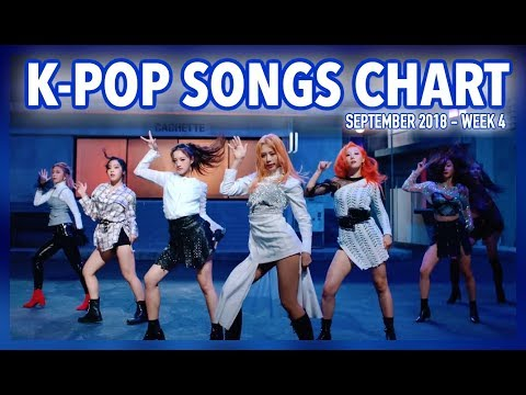 K-POP SONGS CHART | SEPTEMBER 2018 (WEEK 4)