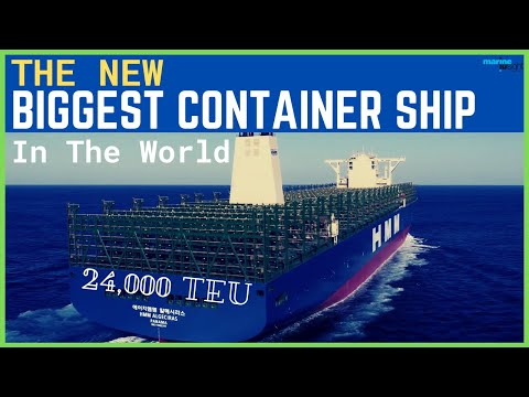 Biggest Container Ship in the World 2020