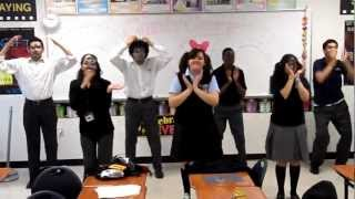 "I had my students ""practice for the musical"" in Theatre Arts I toda..."