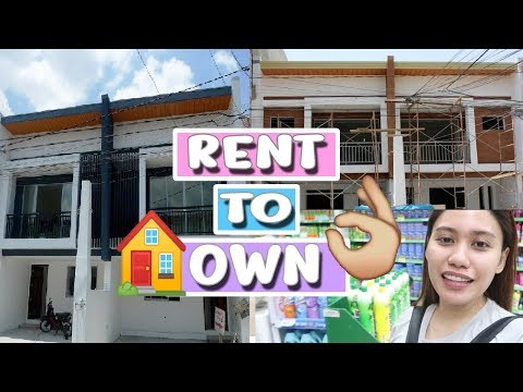 TUMINGIN NG RENT TO OWN NA BAHAY  GROCERY DAY 💜 Purpleheiress Vlogs