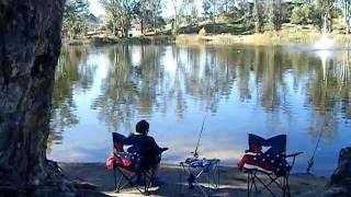 Fishing at Little Lake Hemet California part 2