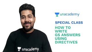 Special Class - UPSC CSE - How to write GS answers using Directives - Subhodeep Das