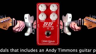 Mike Hermans using Rocknroll Amps Blues Senior 46V6 to demo Xotic Effects BB PREAMP AT pedal