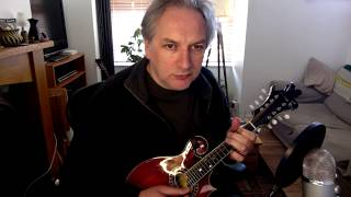 Tommy Clifford's (jig) on mandolin