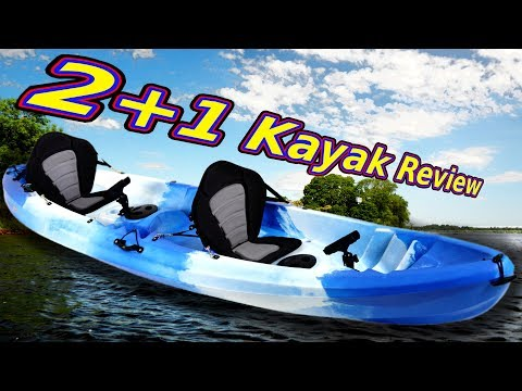 Sit on top 2+1 Kayak Review