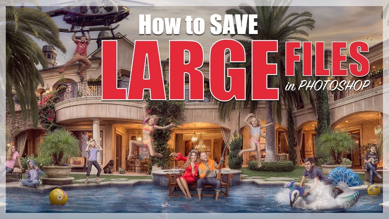 How to Save Large Files in Photoshop |