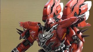 G-System Sinanju 1/72 - Part 10 - Arms, shoulders and Boosters