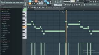 mask off future making instrumental step by step fl studio
