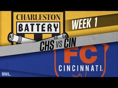 Charleston Battery vs FC Cincinnati: March 17, 2018