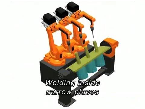 Kontraktor Listrik Batam - ABB Robotic Arc Welding - PT Global Powerindo Mandiri ABB Partner