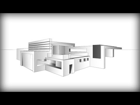 ARCHITECTURE | DESIGN #7: DRAWING A MODERN HOUSE