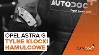 Instrukcja napraw Opel Astra g f48