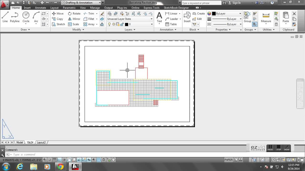 Autocad assignments