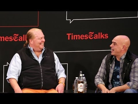 Mario Batali & Michael Symon   Interview   TimesTalks
