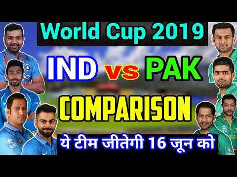 World Cup 2019: India Vs Pakistan Full Comparison, Who Will Win?