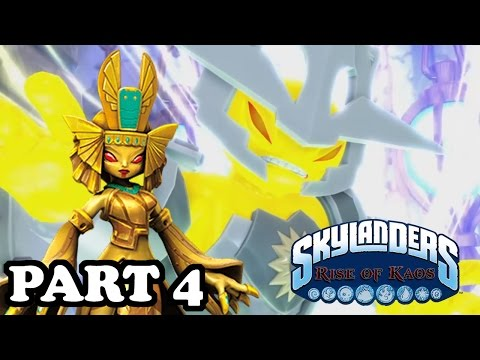 Skylanders: Rise of Kaos - LORD KAOS VS LORD LUMINOUS! Part 4 Walkthrough