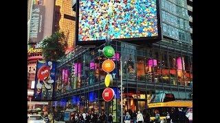 19- M&M's World, il negozio piu' colorato di Times Square
