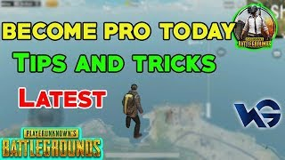 PUBG MOBILE : Tips and Tricks for pubg Become pro today (HINDI)