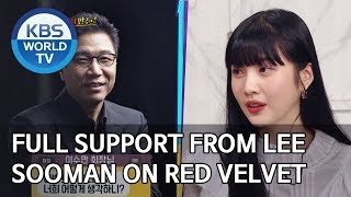 Full support from Lee Sooman on Red Velvet [Happy Together/2020.01.23]