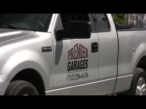 Premier Garages building a new garage in Omaha / Council Bluffs