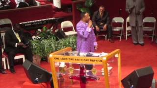 Bishop Lambert W. Gates Sr. Pt 2 - Apostolic Pentecostal Church of Morgan Park 90th Convention