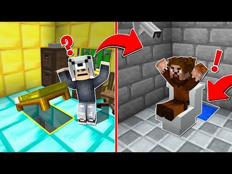 ZENGİN HAPİSHANESİ VS FAKİR HAPİSHANESİ! 😱 - Minecraft