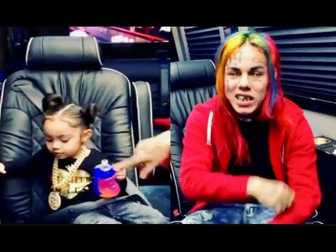 6ix9ine SPEAKS ON Not Being able to BUY Pampers For His Daughter just a Year Ago!