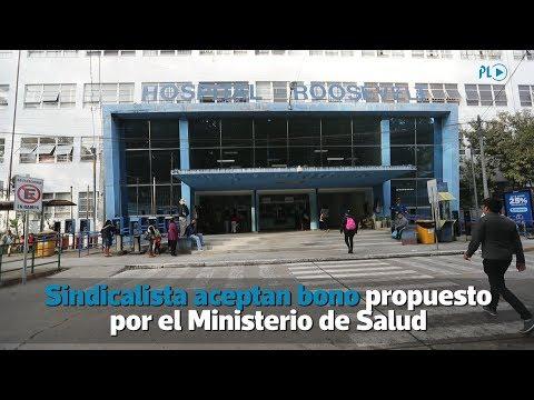 Salubristas aceptan bono propuesto por el Ministerio de Salud   Prensa Libre