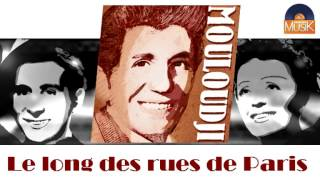 Mouloudji - Le long des rues de Paris (HD) Officiel Seniors Musik