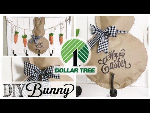 DIY Dollar Tree Easter Bunny