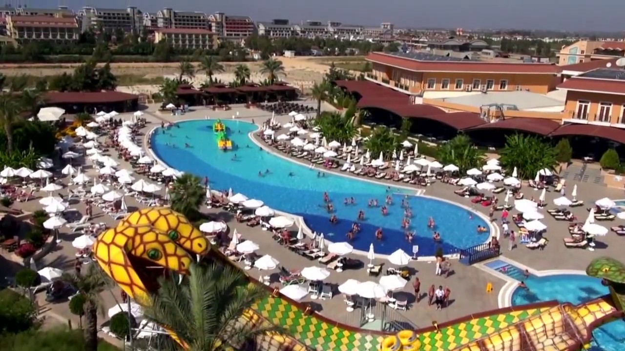 Crystal Paraiso Verde Resort Spa Belek Antalya Youtube