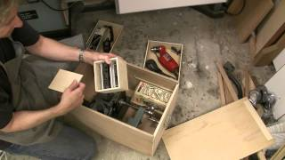 Table Saw Tenon Jig Storage Box