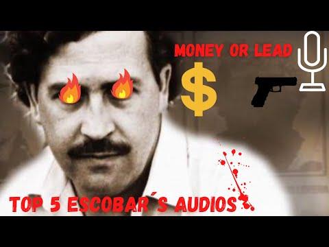 REAL Pablo Escobar´s audio recordings.