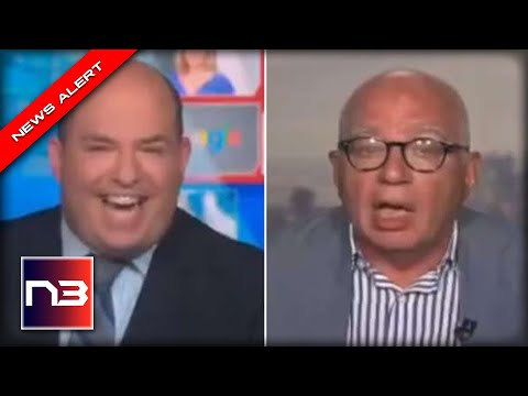 BRUTAL! CNN's Potato Head Brian Stelter Gets ROASTED by Own Guest Live on the Air