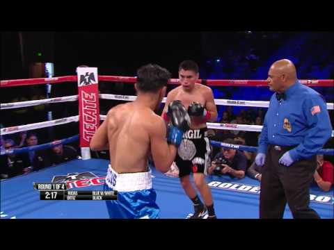 Vergil ORTIZ vs. Julio RODAS | July 30th | HBO Latino Undercards | Full Fight