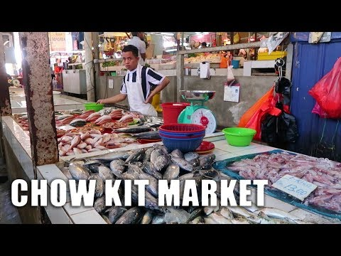 Exploring Chow Kit Market in Kuala Lumpur, Malaysia